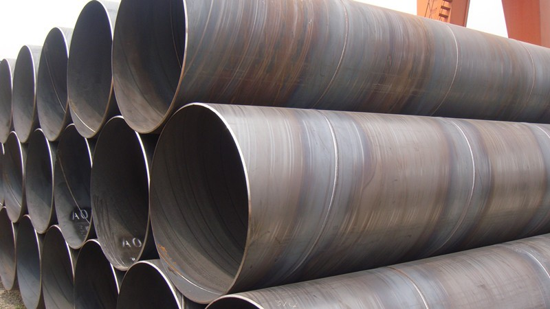 Large diameter spiral welded pipes greatindiapipes
